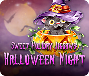 Sweet Holiday Jigsaws: Halloween Night for Mac Game