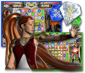 software puzzle games match 3 casual games  Throne of Olympus