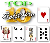 Top Ten Solitaire Screen shot