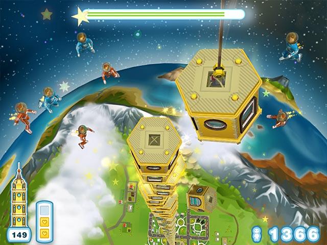 لعبة بناء المدن الرائعة Tower Bloxx Deluxe بحجم 38.5 MB