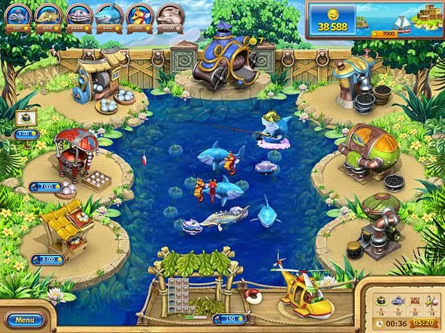 Farm Frenzy: Gone Fishing télécharger