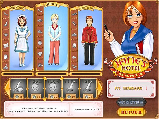 Jane's Hotel Mania télécharger