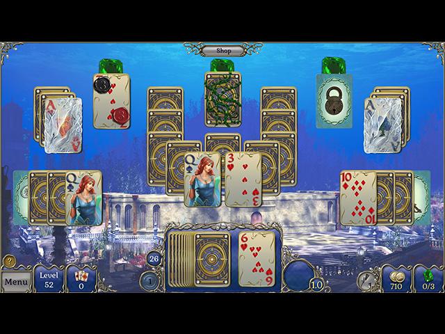 Jewel Match Solitaire: Atlantis 2 Édition Collector image