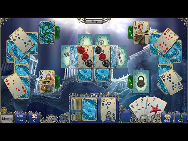 Jewel Match Atlantis Solitaire Édition Collector image