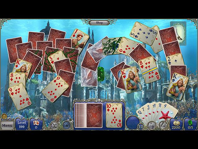 Jewel Match Atlantis Solitaire image