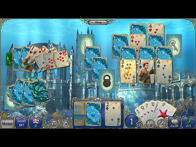 Jewel Match Atlantis Solitaire télécharger