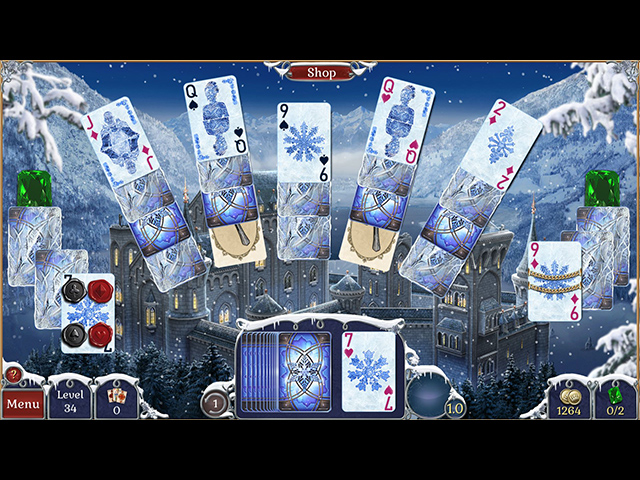 Jewel Match Solitaire: Winterscapes image
