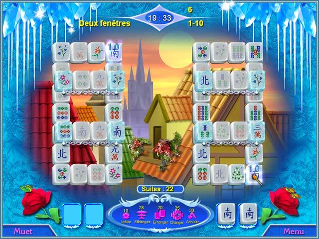 Snow Queen Mahjong image