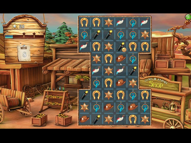 Solitaire Chronicles: Wild Guns image