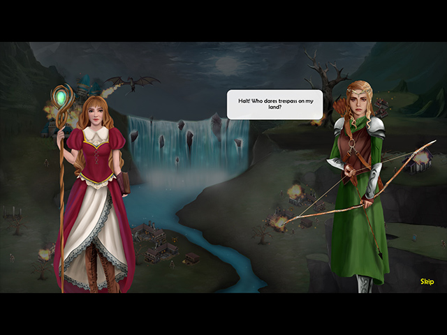 The Enthralling Realms: The Witch and the Elven Princess image
